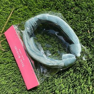 ISAAC MIZRAHI Light Blue Fabric Headband